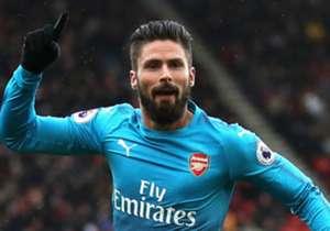 Cenk Tosun'un takımdan ayrılması ihtimalini göz önünde bulunduran Beşiktaş yönetimi, Arsenal'de kalıp kalmama konusunda kararsızlık yaşayan Fransız golcü Olivier Giroud'u gündemine aldı. (Hürriyet)
