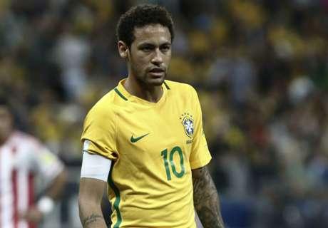 Neymar hails Brazil progress