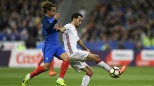 Sergio Busquets Spain Friendlies 28032017