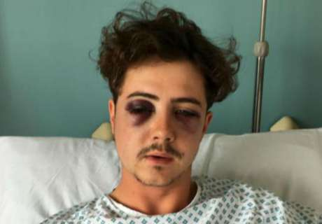 Spurs fan attacked by fellow supporter