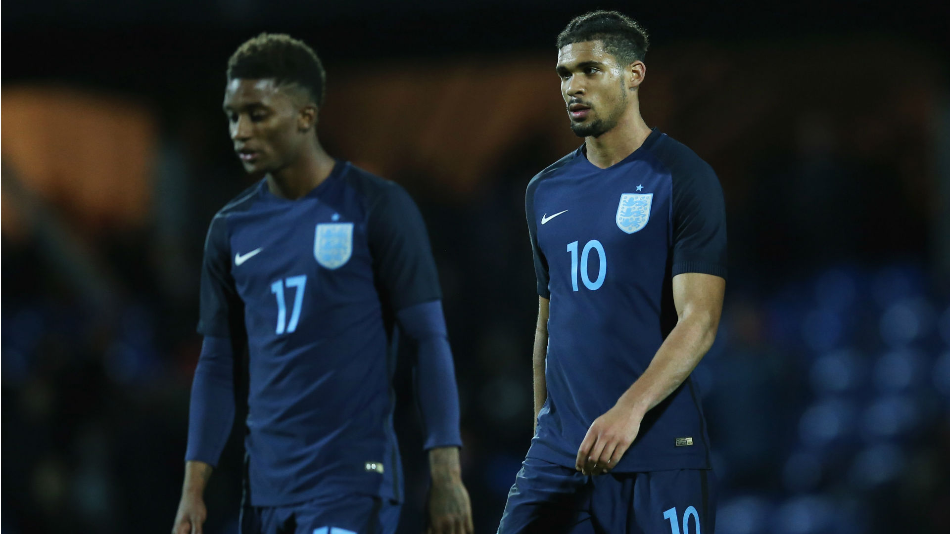 Demarai Gray Ruben Loftus-Cheek England U-21