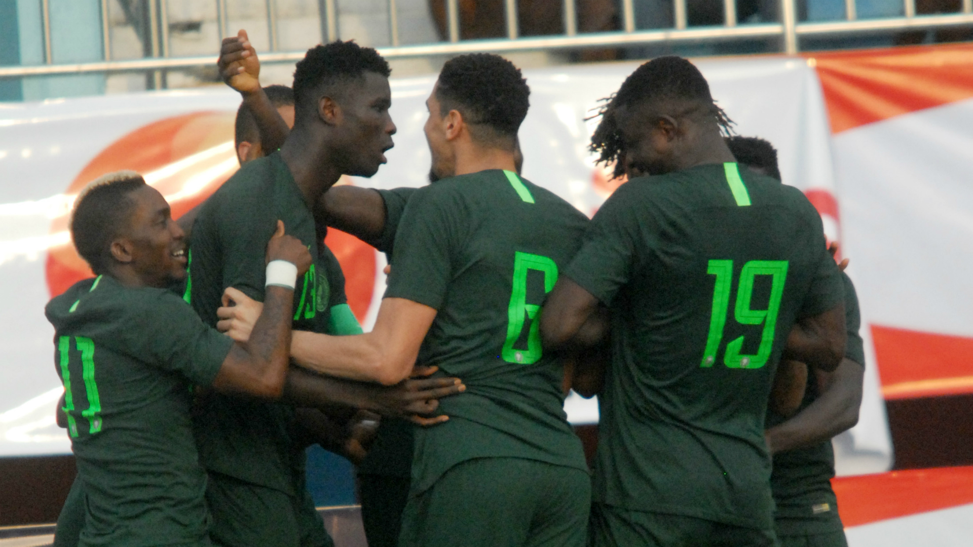 Twitter reacts as Ukraine hold Nigeria in friendly