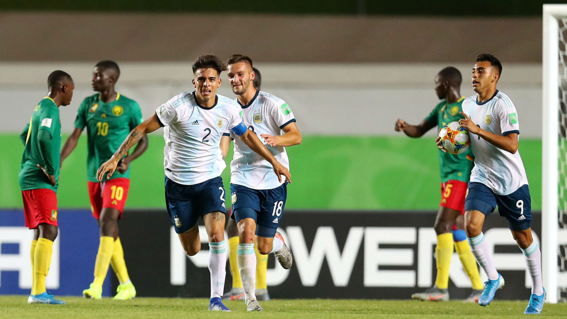 U17 World Cup: Argentina defeat Cameroon to leave Lions on the brink of elimination