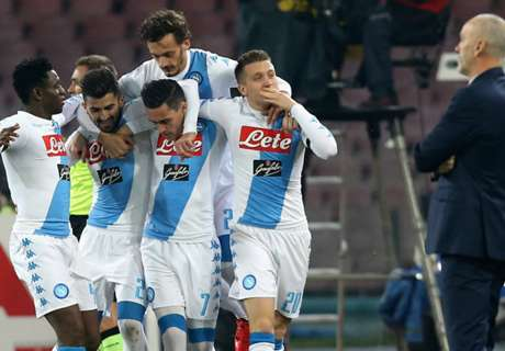 Napoli Hajar Inter