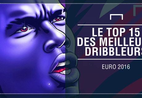 Les 15 meilleurs dribbleurs de l'Euro