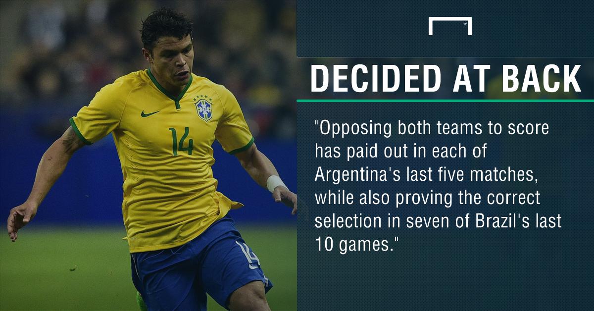 GFX Brazil Argentina betting