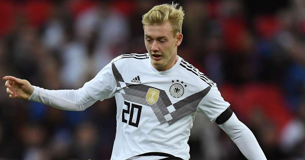 Dfb Team Julian Brandt Ubernimmt Ruckennummer 10 Von Mesut Ozil