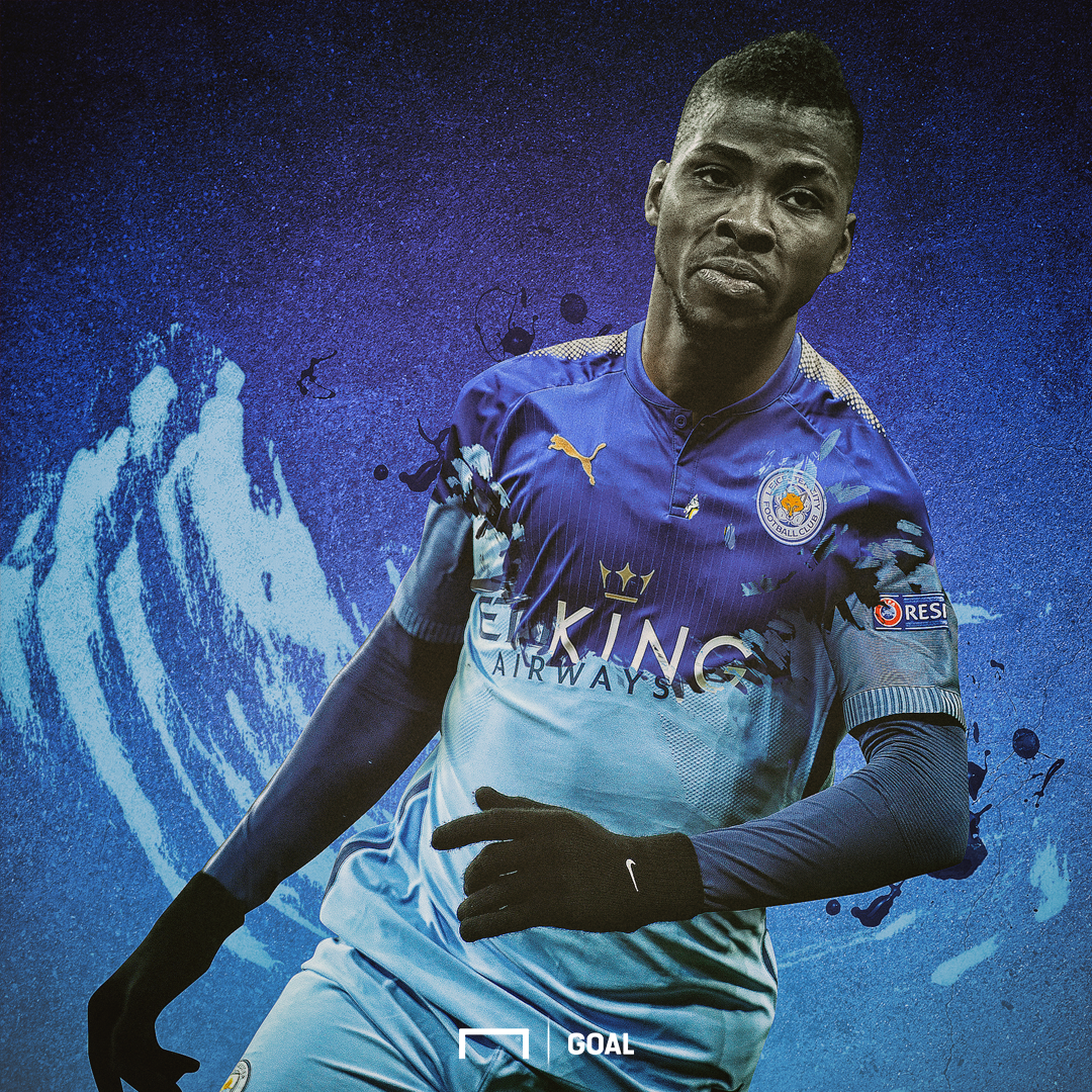 EMBED ONLY Kelechi Iheanacho Leicester City
