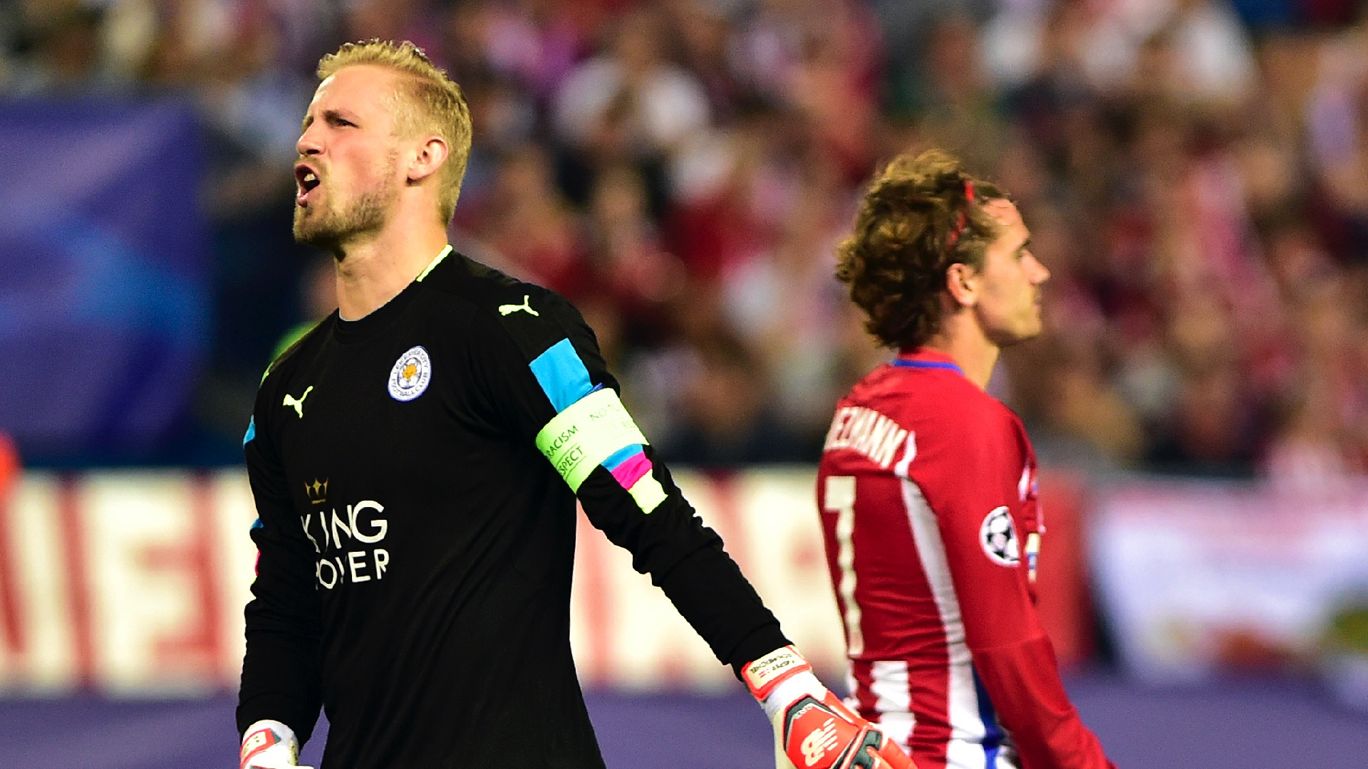 Leicester manager blames poor refereeing for Atletico loss