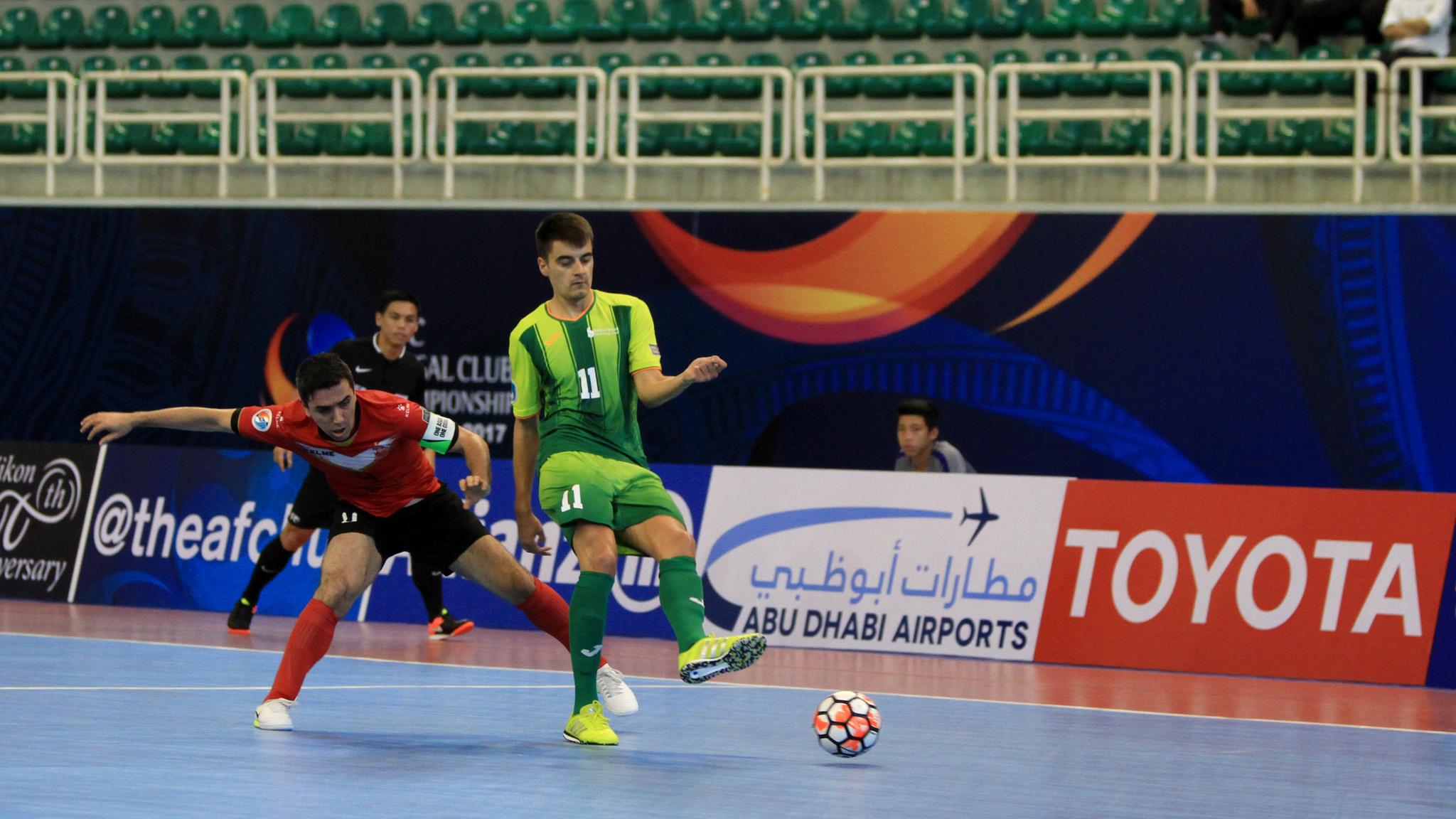 2017 AFC Futsal Club Championship   Sanaye Giti Pasand vs Bank of Beirut
