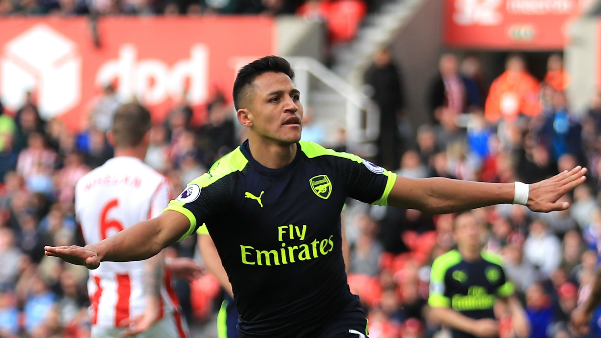 Alexis Sanchez Arsenal Premier League 051317