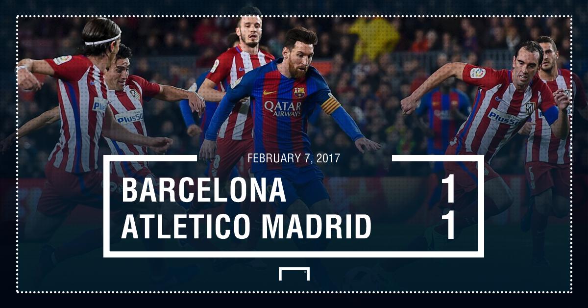 Barca Atleti result