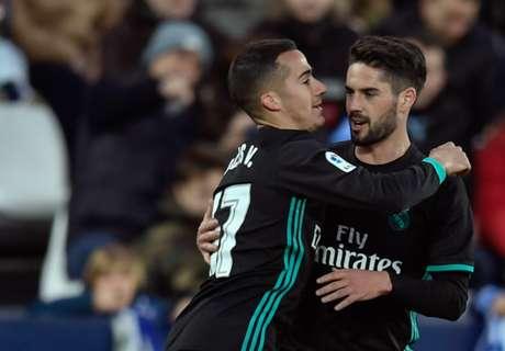 Győzött a Real Madrid és fellépett a dobogóra