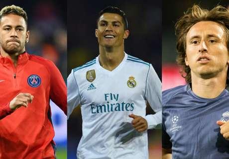 Buffon, Bonucci et Neymar dans le XI FIFPro de l'année
