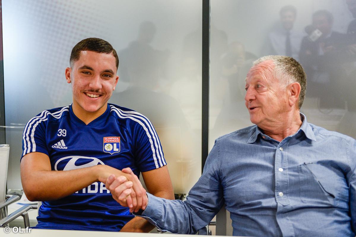 OL - Garcia fait confiance à la jeunesse, et convoque Rayan Cherki pour Dijon !