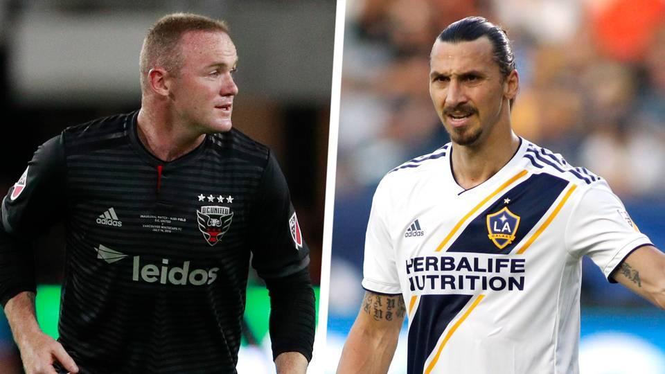Rooney, Ibrahimovic headline MLS MVP finalists