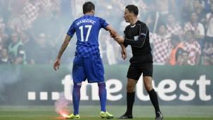 Croatia Crowd Trouble Euro 2016 Group D Czech Republic