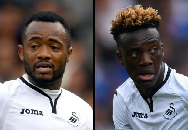 Should Jordan Ayew be worried about Tammy Abraham?