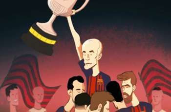 CARTOON: Iniesta the king of the Copa final