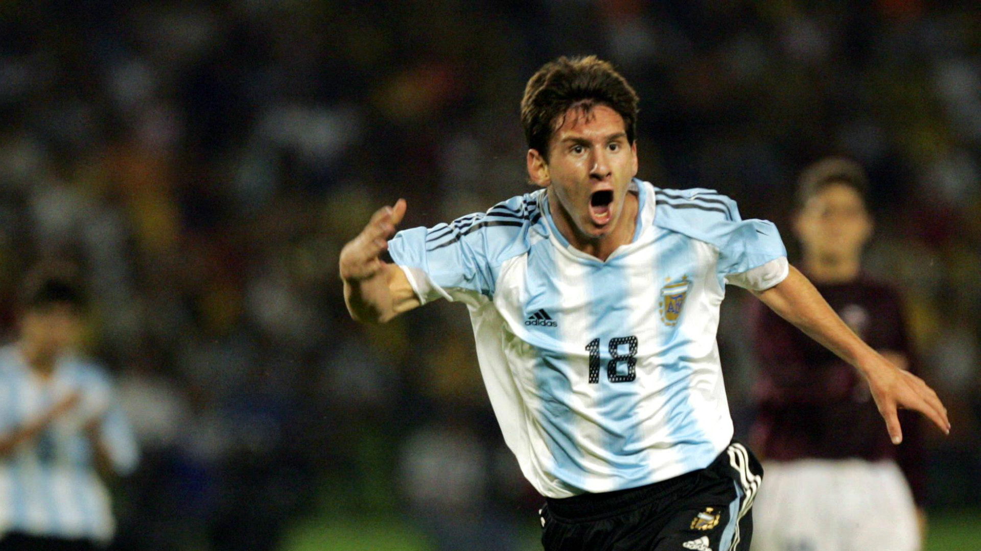 HD Lionel Messi Argentina 2005