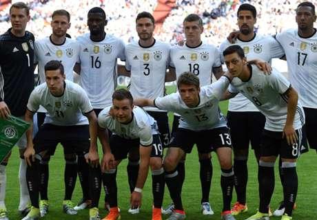 Weltrangliste: Deutschland nur Vierter