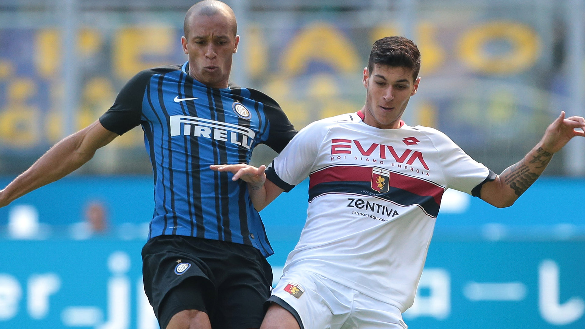 Miranda Pellegri Inter Genoa Serie A
