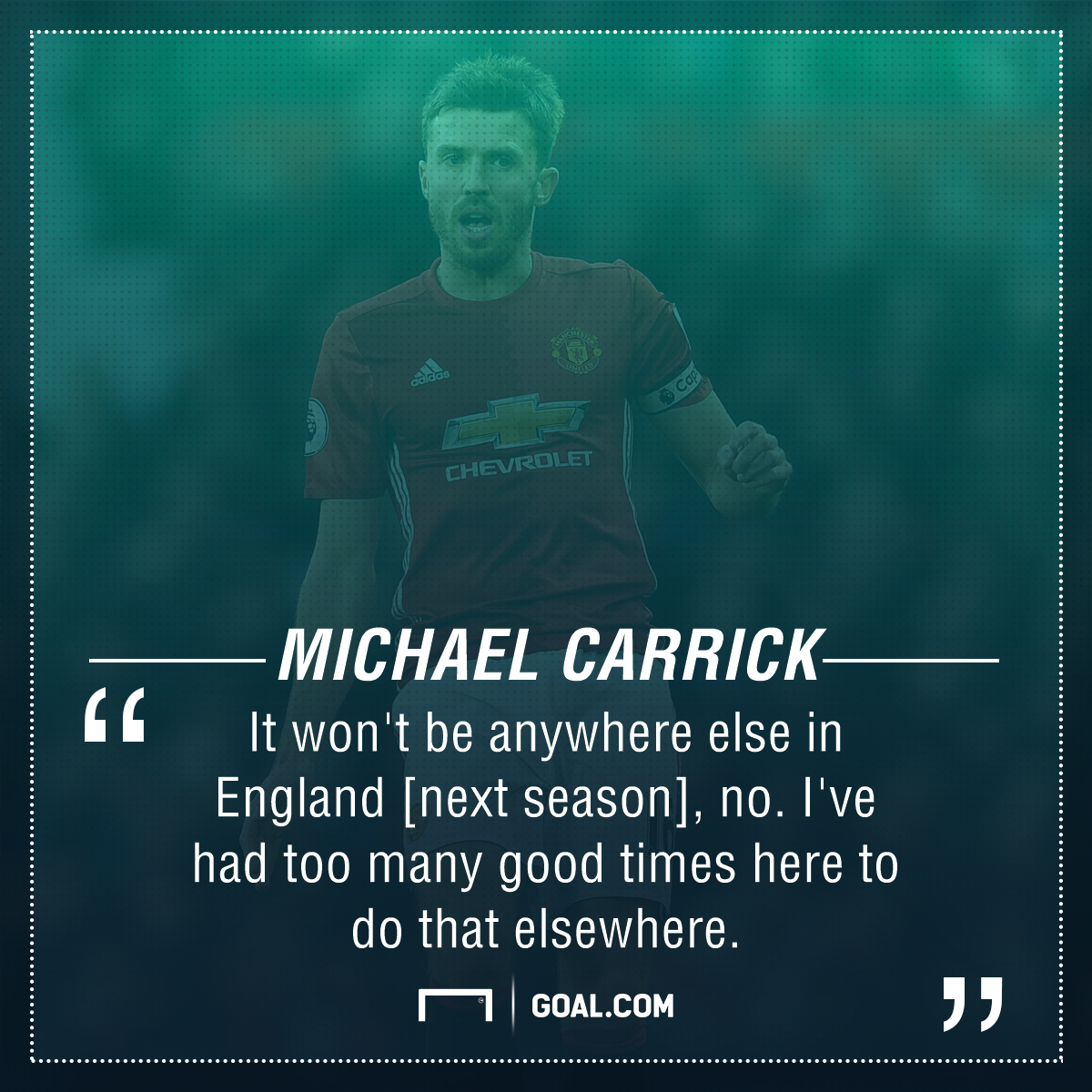 Michael Carrick Manchester United future
