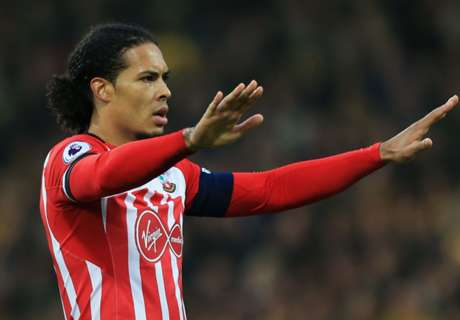 Van Dijk sale ruled out by Southampton