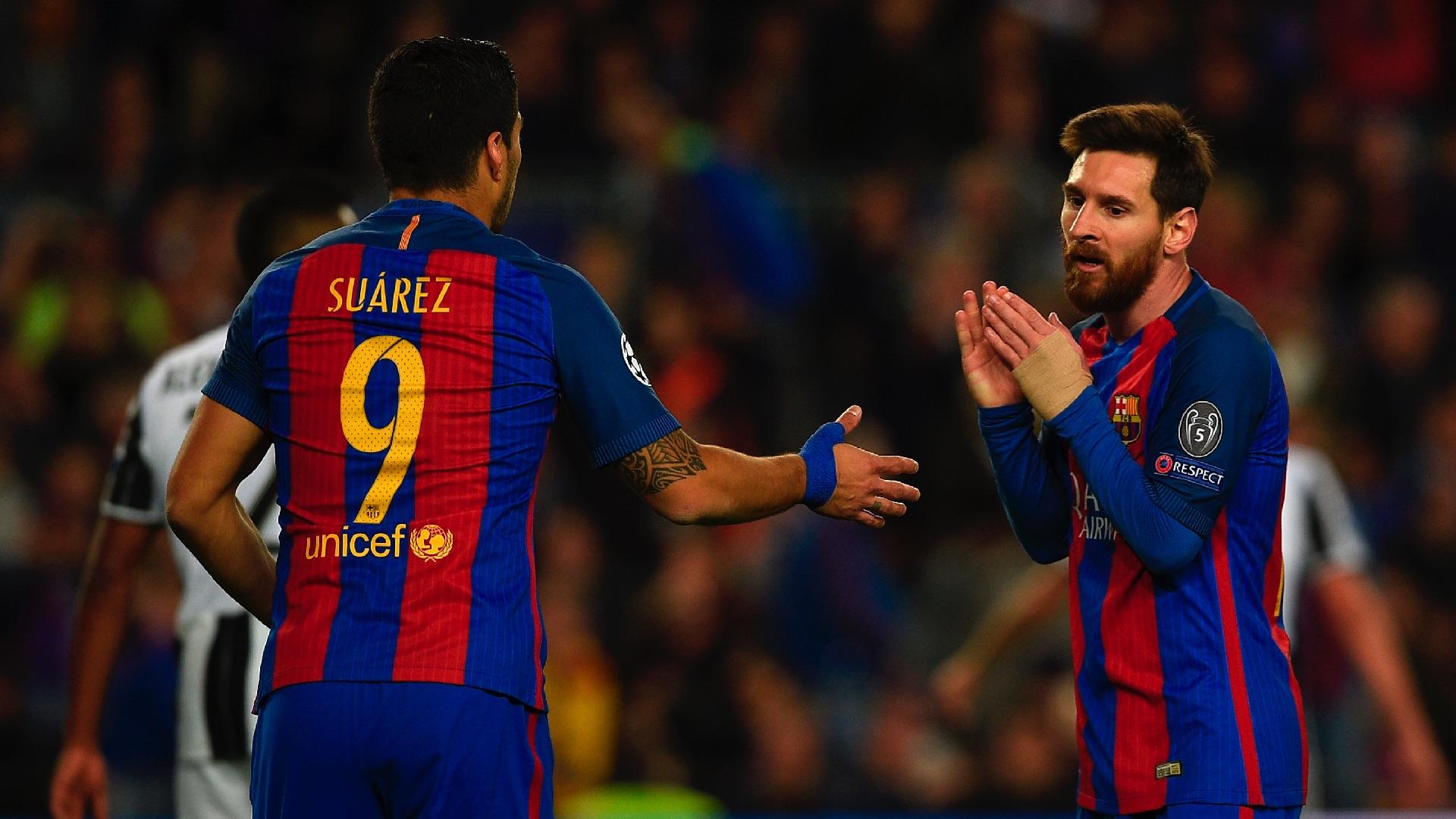 Lionel Messi Luis Suarez Barcelona Juventus UCL 19042017