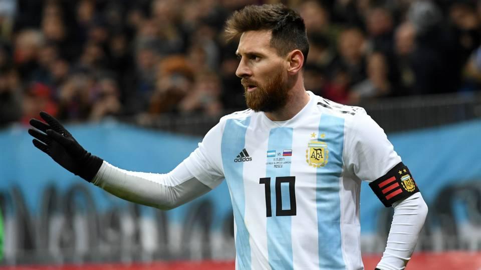 Lionel Messi Russia Argentina