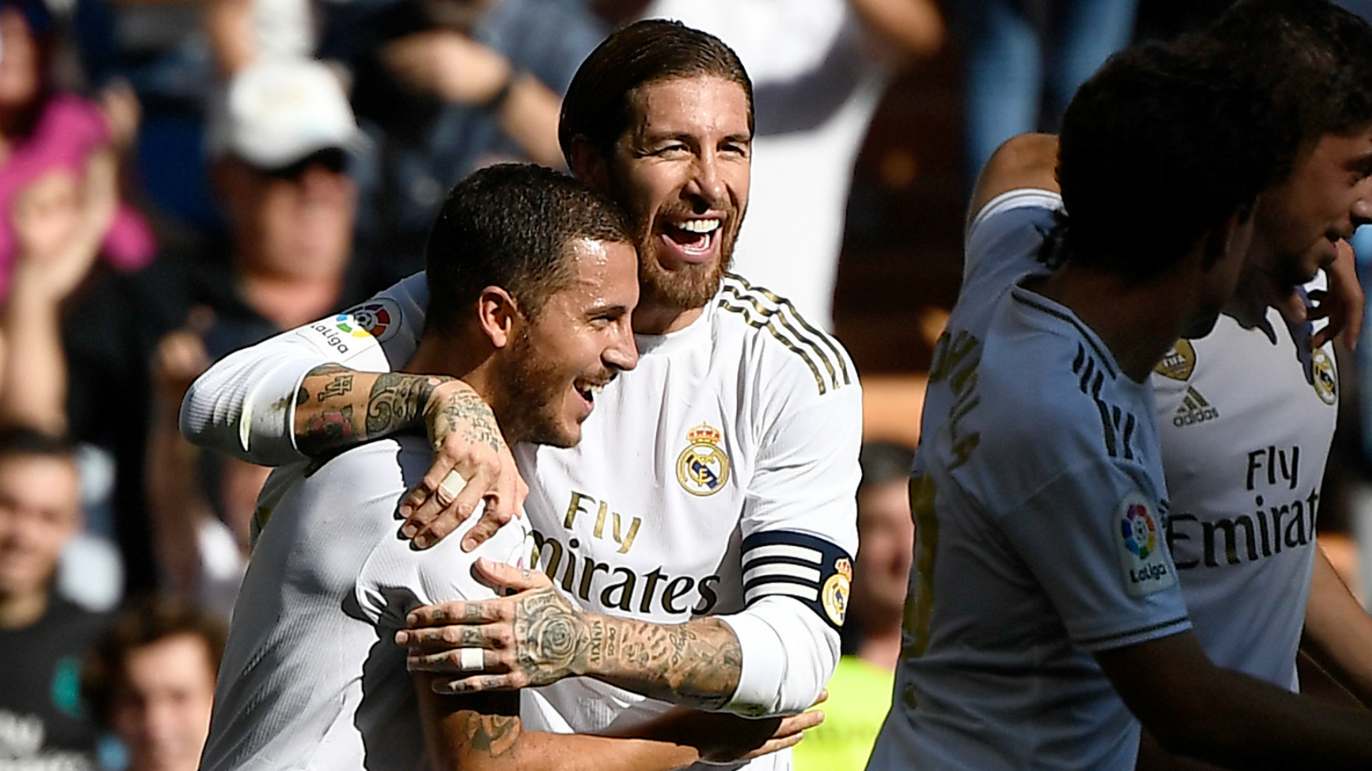 'He knows what us players need' - Hazard relishing chance to learn from 'idol' Zidane at Real Madrid