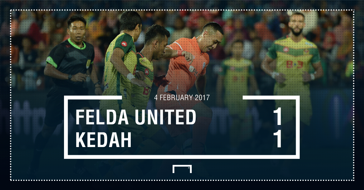 Result Felda United Kedah Super League 2017