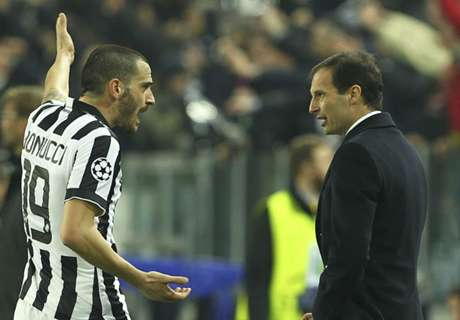 Bonucci out of Juventus squad