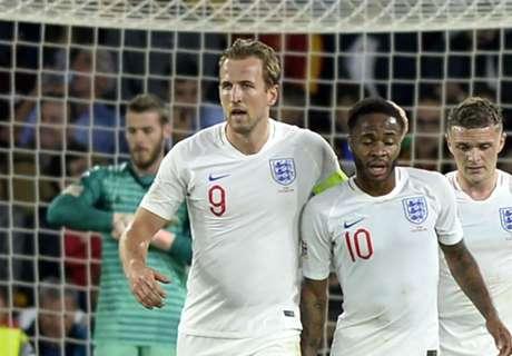 คุณคือโคบาล! อังกฤษยิงสเปนในบ้าน 3 ลูกทีมแรก, บุกชนะทีมแรกในรอบ 15 ปี