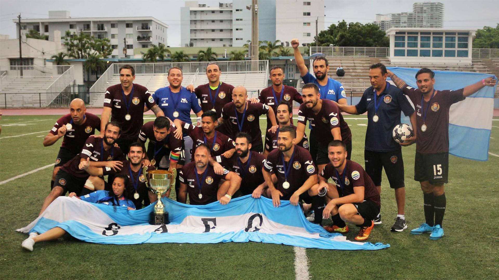Argentina se consagró campeón en el Mundial de Fútbol Gay