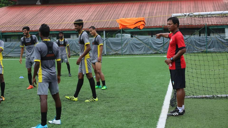 Derrick Pereira FC Goa developmental team
