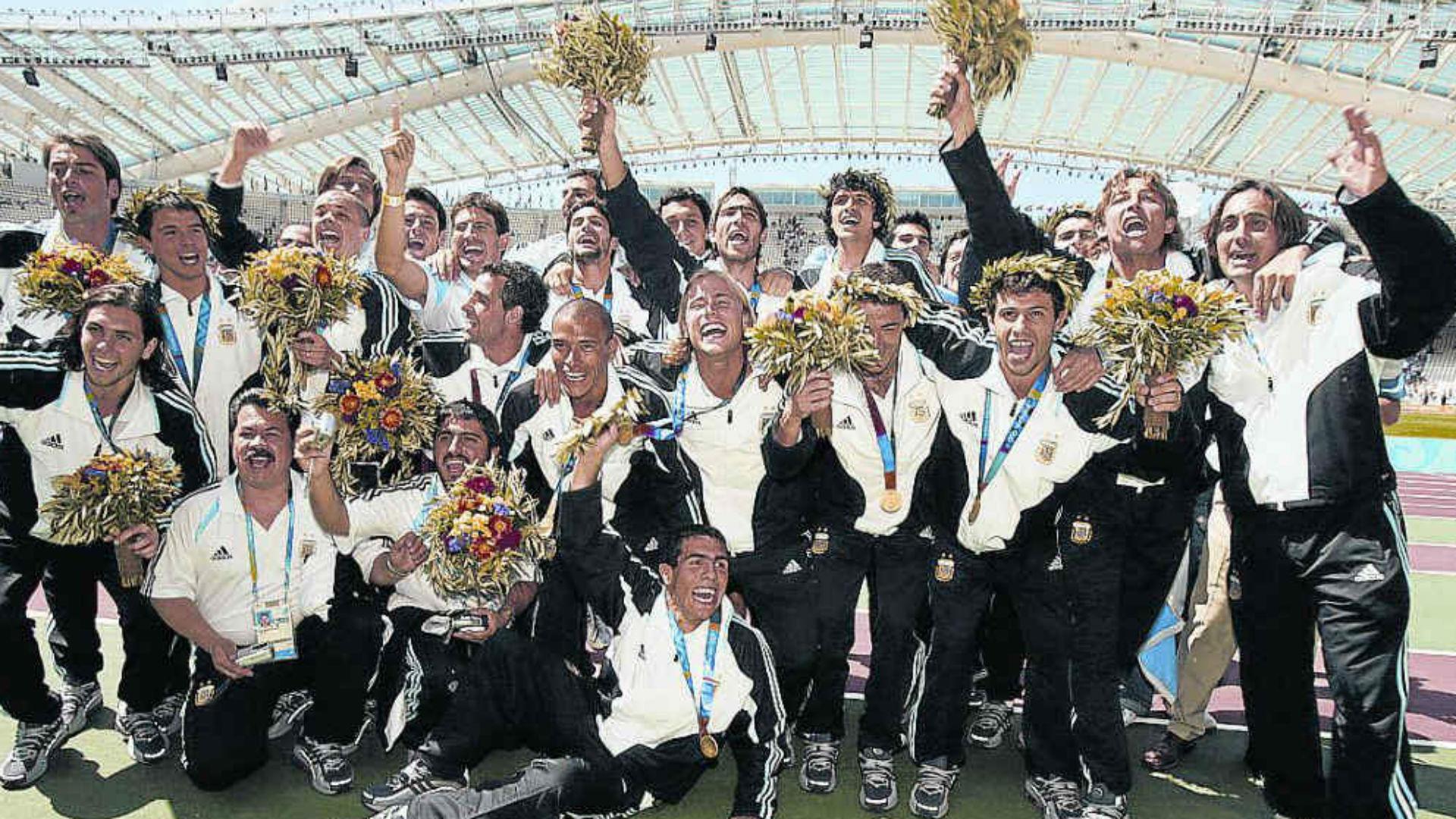 Argentina Campeon Juegos Olimpico 2004