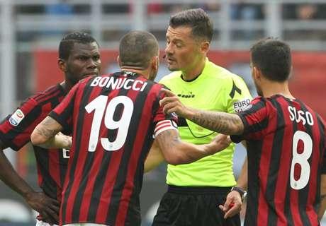Sepuluh Pemain Milan Diimbangi Genoa