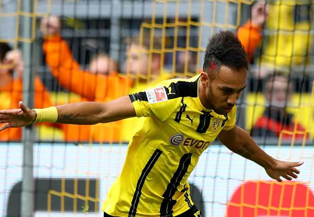 Aubameyang signs off for international break with goal number 23