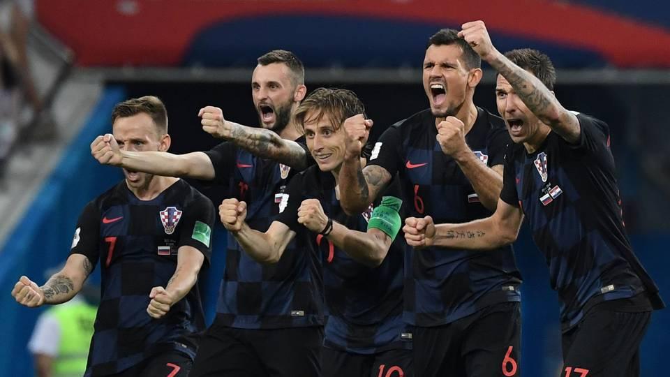 Russia Croatia World Cup 2018 070718