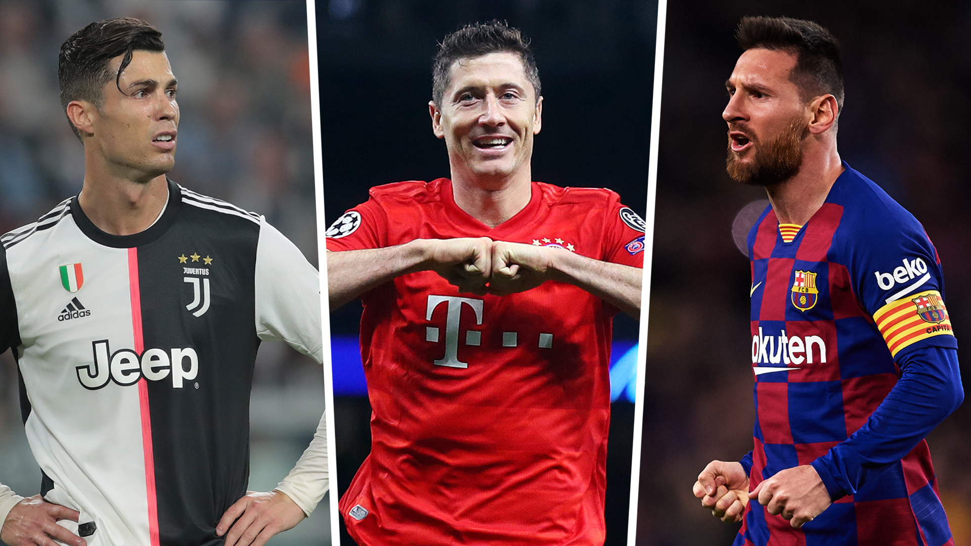 'Lewandowski is on par with Messi and Ronaldo' - Werner in awe at Bayern striker's form