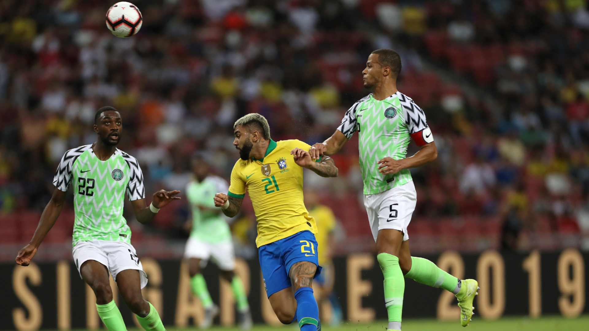 Afcon 2021 qualifiers Wednesday wrap: Nigeria, Senegal win as Cameroon held at home