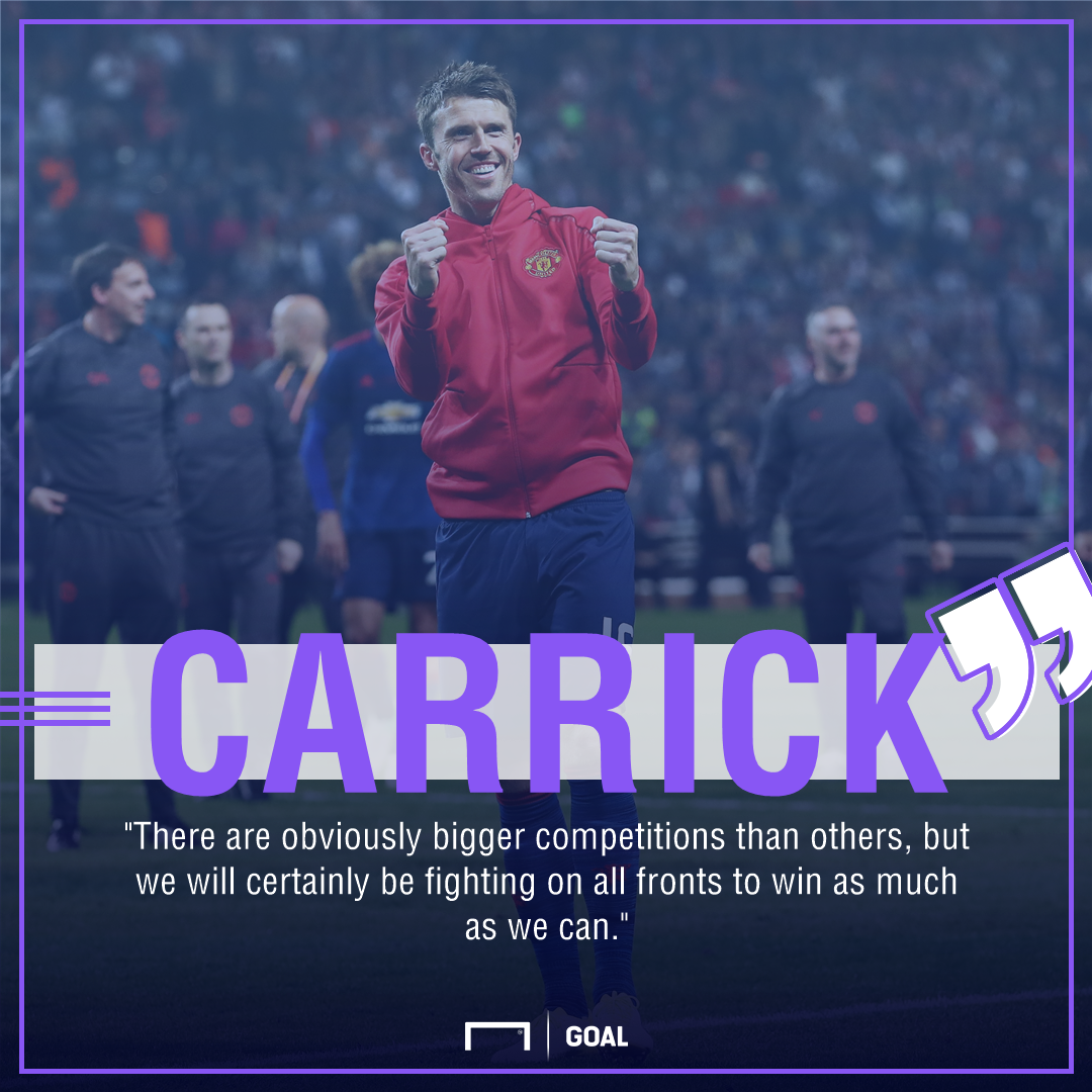 Michael Carrick Manchester United challenge