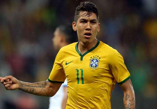 Firmino unfazed by lack of superstar status in Brazil