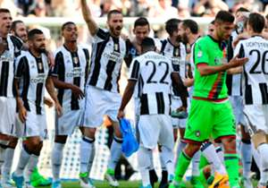 African trio Kwadwo Asamoah (Ghana), Medhi Benatia (Morocco) and Mario Lemina (Gabon) clinched their second title in less than a week. Having clinched the Coppa Italia in midweek, Max Allegri's side secured another Scudetto on Sunday by defeating Croto...