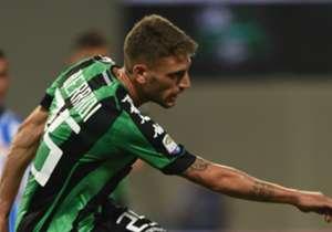 L'attaccante del Sassuolo, Domenico Berardi