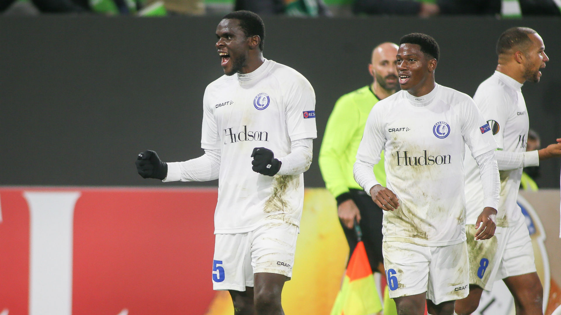 Ngadeu-Ngadjui scores first Europa League goal for Gent against Wolfsburg