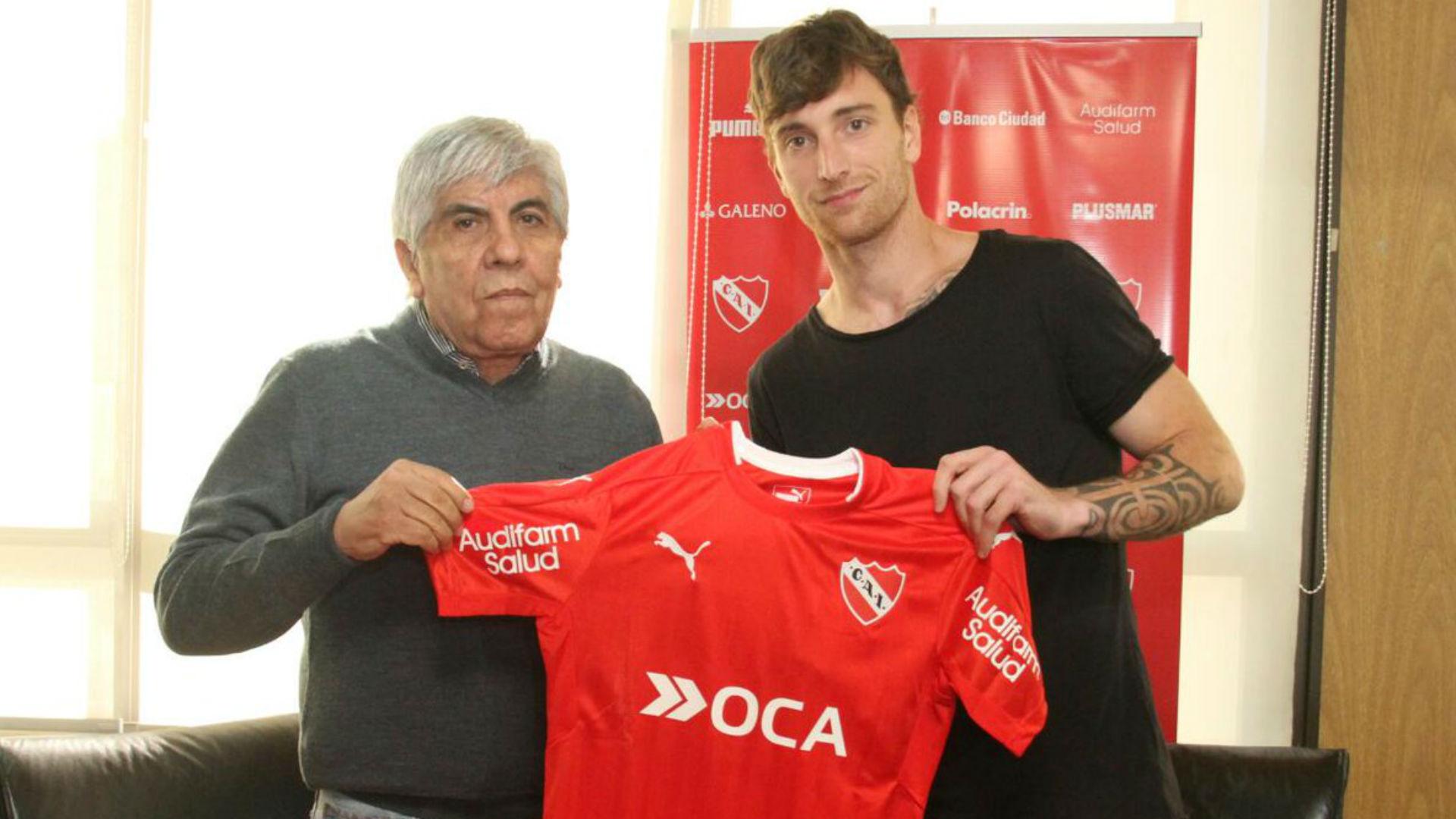 Fernando Amorebieta Independiente 17072017