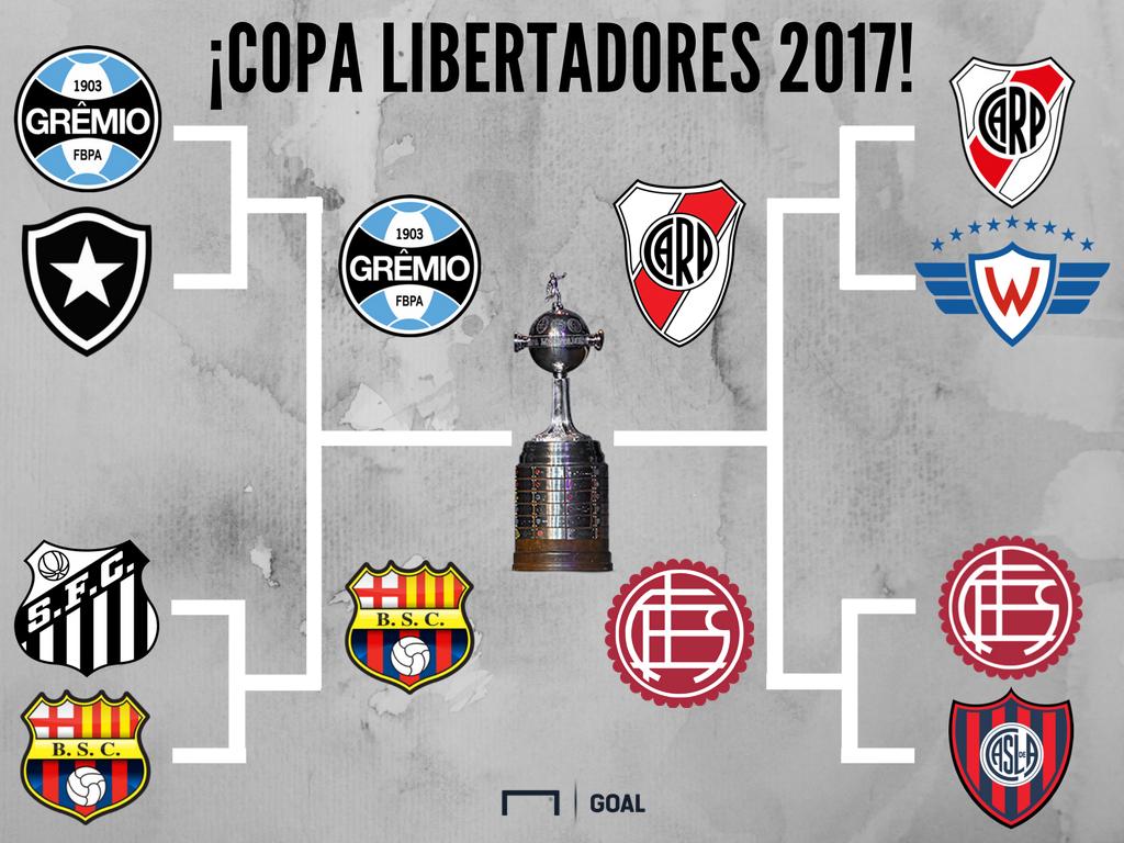 semifinales copa libertadores 2017