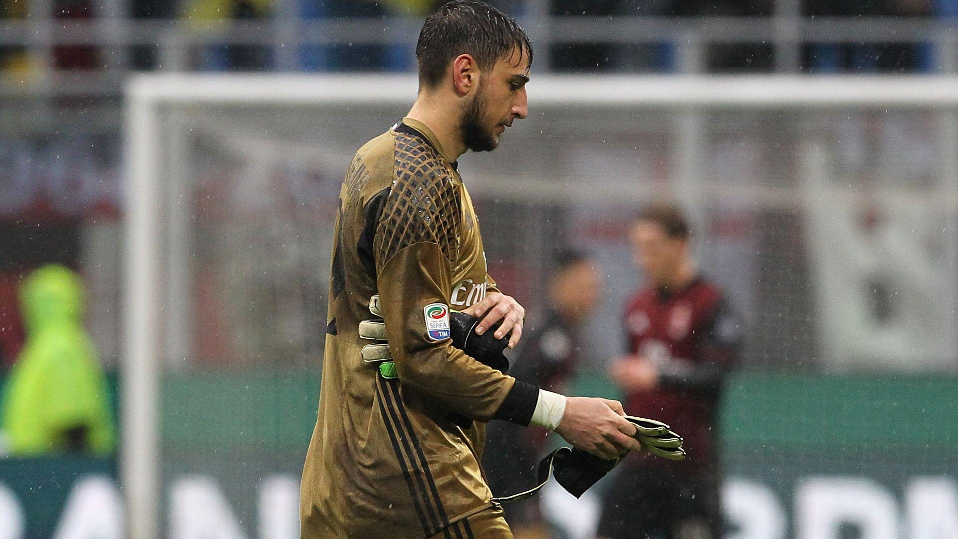 Gianluigi Donnarumma Milan Sampdoria Serie A